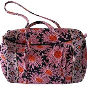 Vera Bradley Loves Me Duffel Weekend/Travel Bag